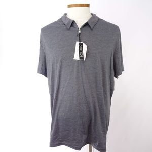 Alfani Stretch Men's Gray Polo Shirt
